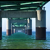 Mackinaw Bridge Pilings and the Underbelly of the Bridge