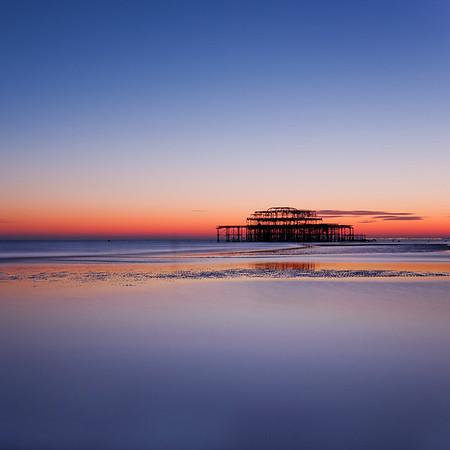West Pier Sunset