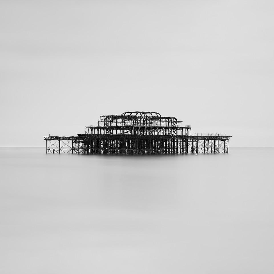 West Pier Monochrome