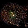 Fireworks at Bristol Balloon Fiesta