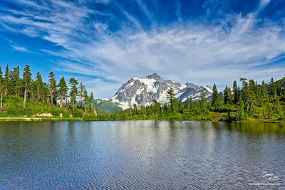 Picture Lake North Cascades National Park Washington