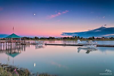 Fraser River Richmond, British Columbia
