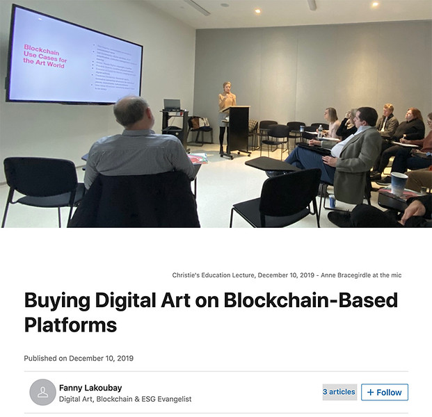 Just getting started collecting digital art on the blockchain?