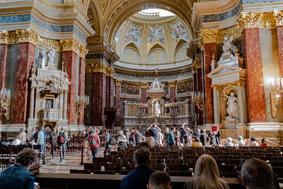 Beautiful St. Stephen's Basilica, Named After The First King Of Hungary