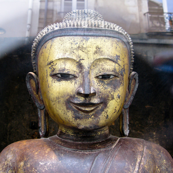 Buddha in Paris
