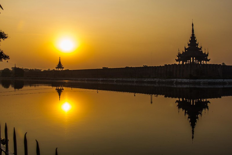 Mandalay.  One of the old capital cities.