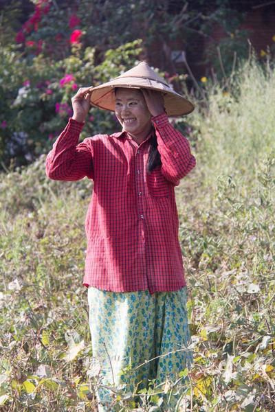 Local village girl