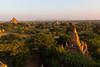 Just a few pagodas.....at sunset