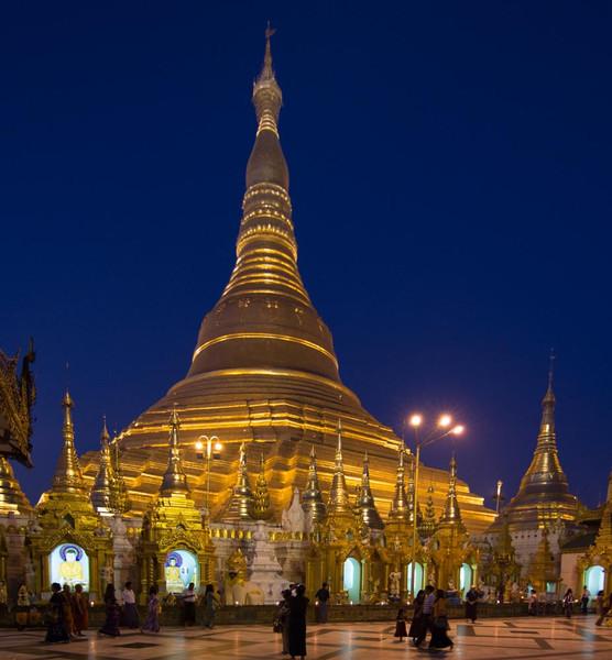 The Golden Shwedagon Pagoda