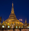 The Golden Shwedagon Pagoda