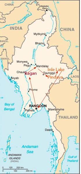 Myanmar (Burma) January 2014