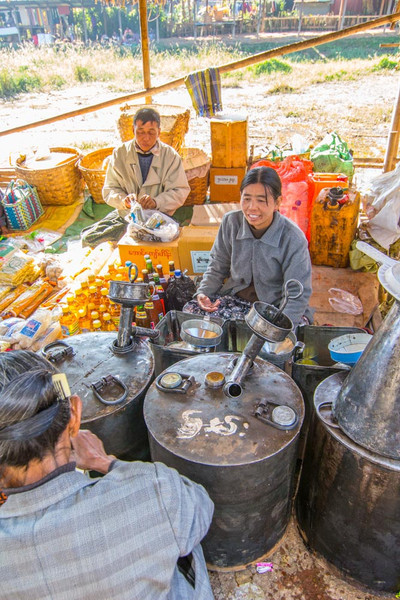Cooking oil vendor