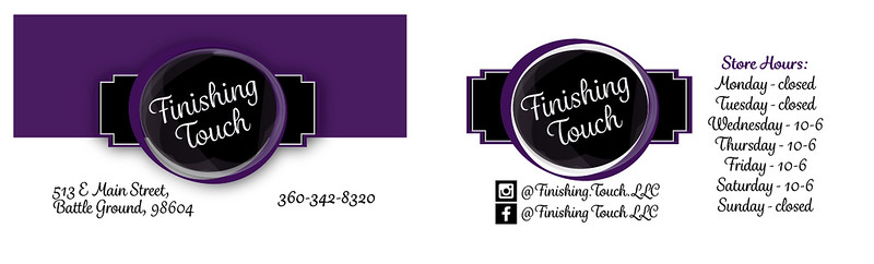 FINISHING TOUCH Business Cardto