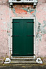 GreenItalianDoorPinkWall