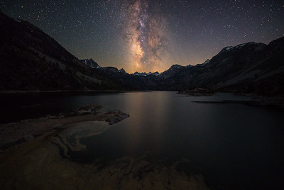 Lake Sabrina Milky Way