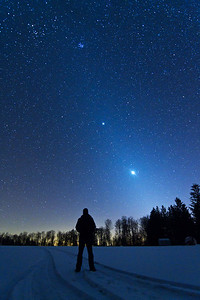 Zodiacal Light & Man