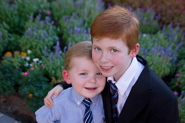 Connor's Baptism Pictures at the Las Vegas Temple.