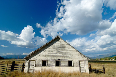 Weathered Barn Indian Valley - Plumas County