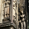 ANGKOR. THOMMANON TEMPLE. FEMALE DEVATAS. SIEM REAP.