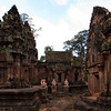BANTEAY SREI TEMPLE. ANGKOR. SIEM REAP. CAMBODIA.