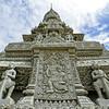 PHNOM PENH. ROYAL PALACE. SILVER PAGODA.