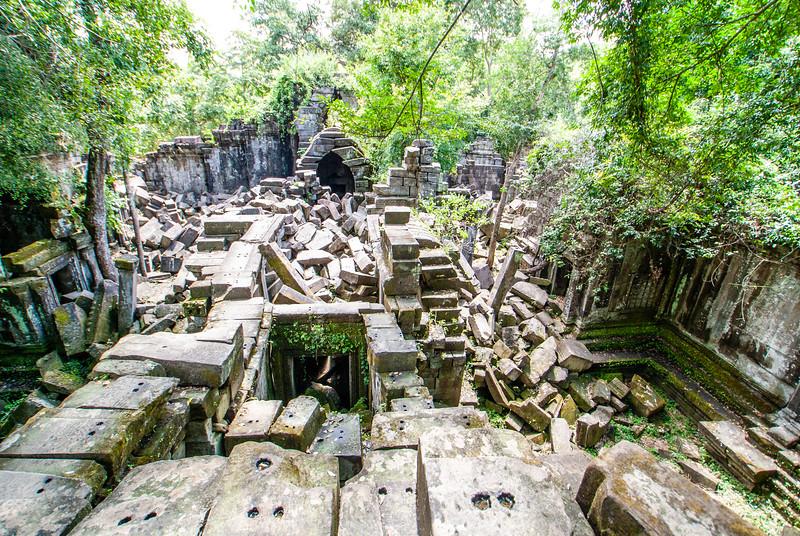 Ruins of Beng Mealea, Angkor, Cambodia, Asia