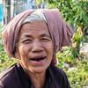 PHNOM PENH. OLD CAMBODIAN LADY.