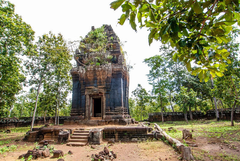 Khmer Temples Koh Ker East Town Srayong West City Preah - Cambodia - Asia