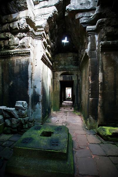ANGKOR. PREAH KHAN. INSIDE THE RUIN. SIEM REAP. CAMBODIA.
