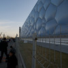 BEIJING. OLYMPIC GAMES BEIJING 2008 AREA. NATIONAL SWIMMING CENTER 'WATER CUBE'.