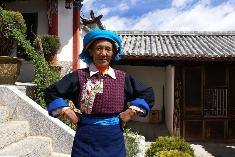 Shangri-la, Yunnan, China temple