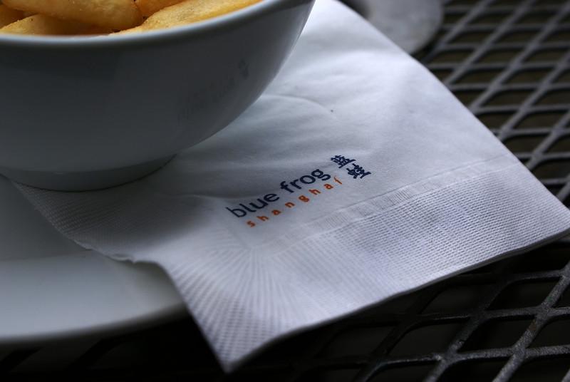 SHANGHAI. BLUE FROG CAFE.