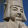 MING TOMBS. SACRED WAY. STATUE OF A CHINESE MAN.