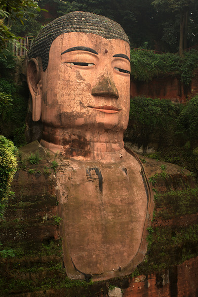 LESHAN. GIANT BUDDHA. [2] SICHUAN. CHINA.