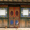 SHANGRI-LA. YUNNAN. OLD WOODEN HOUSE.