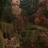 LESHAN. GIANT BUDDHA. SICHUAN. CHINA.