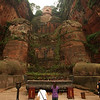 LESHAN. GIANT BUDDHA. [1] SICHUAN. CHINA.