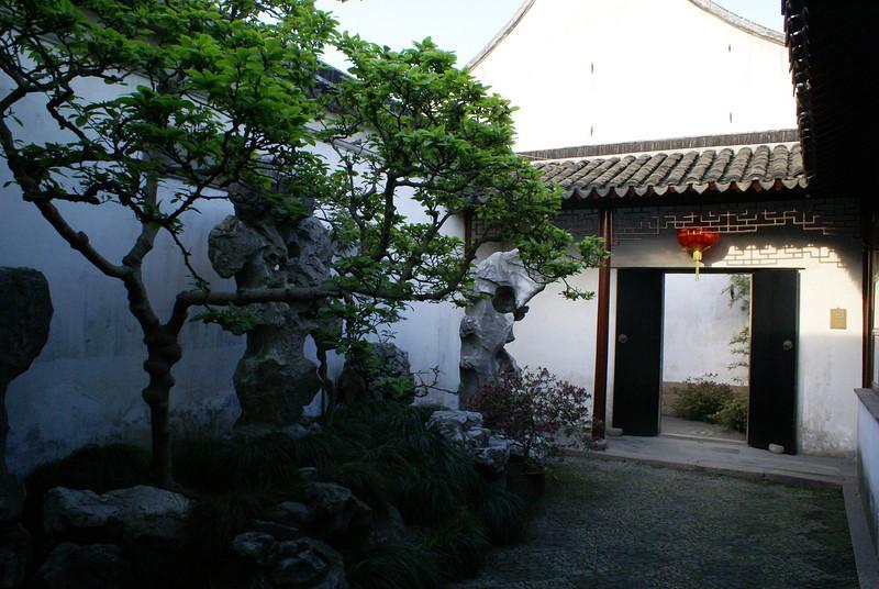 SUZHOU. HUMBLE ADMINISTRATOR'S GARDEN. ENTRANCE. CHINA.