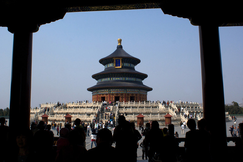 TEMPLE OF HEAVEN. QINIAN DIAN. HALL OF PRAYER FOR GOOD HARVESTS. TEMPLE OF HEAVEN PARK (TIANTIN GONGYUAN). BEIJING.