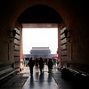 BEIJING. FORBIIDDEN CITY.  ENTRANCE.