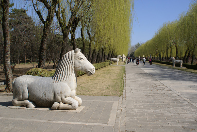 BEIJING AREA. MING TOMBS. ENTRANCE WAY. [1]