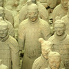 XI'AN. TERRACOTTA WARRIORS. QIN DYNASTY. CHINA. [1]