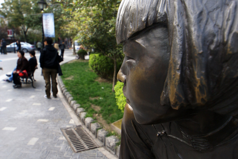 SHANGHAI. DUOLUN CULTURE STREET. SCULPTURE WATCHING. [2]