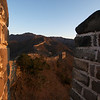 GREAT WALL. MUTIANYU. SUNRISE.
