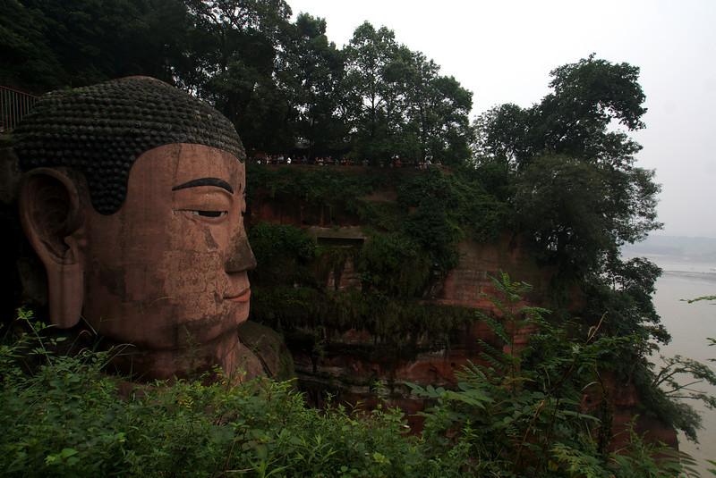 LESHAN. GIANT BUDDHA. [3] SICHUAN. CHINA.