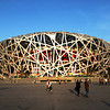 BEIJING. OLYMPIC SUMMER GAMES BEIJING 2008 AREA. THE OLYMPIC STADIUM 'BIRD'S NEST [鸟巢].
