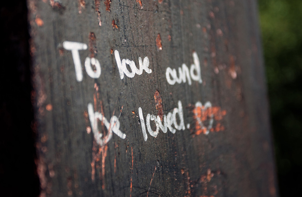 To Love and Be Loved