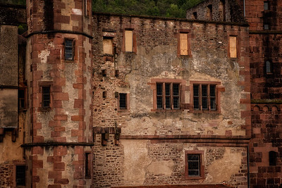 Heidelburg Palace Abstract