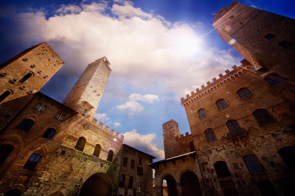 The Loomers of San Gimignano