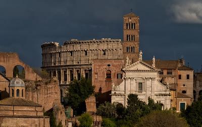Coliseum Through the Forum
